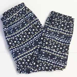 J. Crew Elastic Waist Tapered Leg Pants 12